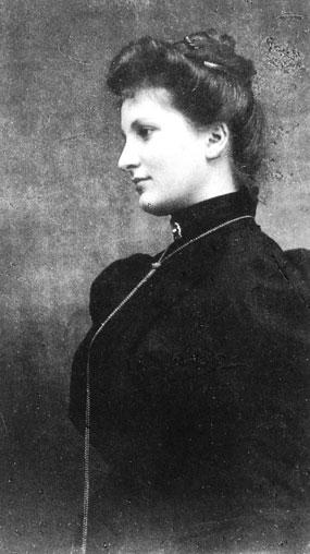 Alma Mahler 1899